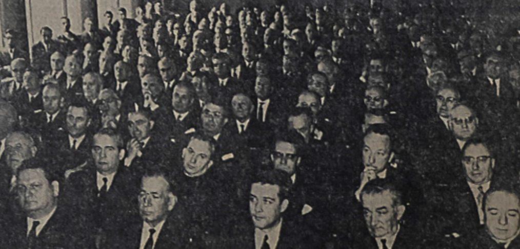 Le Provensal, 28 novembre 1969, inauguration du nouveau siège de la Caisse d'epargne de Toulon.